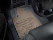 Toyota Tundra 2007-2011 - Коврики резиновые, передние, бежевые. (WeatherTech) фото, цена