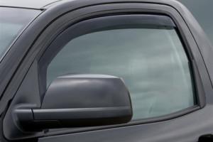 Toyota Tundra 2007-2014 - (Regular Cab) Дефлекторы окон (ветровики), темные. (WeatherTech) фото, цена