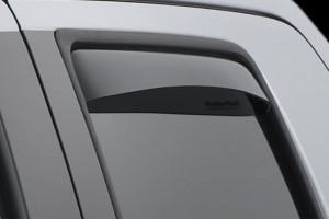 Toyota Tundra 2007-2014 - (Double Cab) Дефлекторы окон (ветровики), задние, темные. (WeatherTech) фото, цена