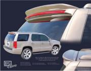 Cadillac Escalade 2008-2011 - Спойлер на крышку багажника (под покраску) фото, цена