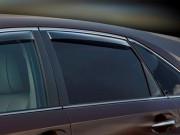 Toyota Venza 2009-2014 - Дефлекторы окон (ветровики), задние, темные. (WeatherTech) фото, цена