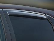 Toyota Venza 2009-2014 - Дефлекторы окон (ветровики), задние, светлые. (WeatherTech) фото, цена