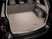 Subaru Forester 2008-2012 - Коврик резиновый в багажник, бежевый. (WeatherTech) фото, цена