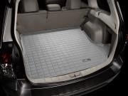 Subaru Forester 2008-2012 - Коврик резиновый в багажник, серый. (WeatherTech) фото, цена