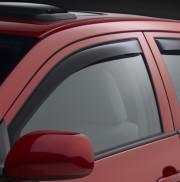 Subaru Impreza 2012-2014 - (Sedan / Hatchback) Дефлекторы окон (ветровики), передние, темные. (WeatherTech)                   фото, цена