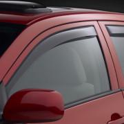 Subaru Impreza 2012-2014 - (Sedan / Hatchback) Дефлекторы окон (ветровики), передние, светлые. (WeatherTech) фото, цена