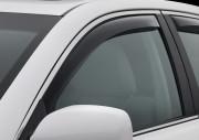 Subaru Legacy 2010-2014 - Дефлекторы окон (ветровики), передние, темные. (WeatherTech)                             фото, цена