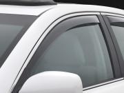 Subaru Outback 2010-2014 - Дефлекторы окон (ветровики), передние, светлые. (WeatherTech) фото, цена
