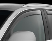 Subaru Tribeca 2006-2014 - Дефлекторы окон (ветровики), передние, светлые. (WeatherTech)                     фото, цена