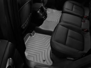Volkswagen Touareg 2011-2017 - Коврики резиновые с бортиком, задние, черные. (WeatherTech) фото, цена