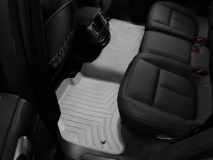 Volkswagen Touareg 2011-2017 - Коврики резиновые с бортиком, задние, серые. (WeatherTech) фото, цена
