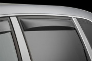 Volkswagen Touareg 2003-2010 - Дефлекторы окон (ветровики), задние, темные. (WeatherTech) фото, цена