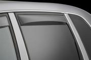 Volkswagen Touareg 2003-2010 - Дефлекторы окон (ветровики), задние, светлые. (WeatherTech) фото, цена