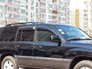 Toyota Land Cruiser 1998-2007 - Дефлекторы окон (ветровики), широкие, к-т 4 шт. (Китай) фото, цена