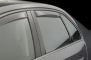 Volkswagen Jetta 2005-2010 - Дефлекторы окон (ветровики), задние, светлые. (WeatherTech) фото, цена