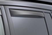 Land Rover Freelander 2013-2014 - Дефлекторы окон (ветровики), задние, темные. (WeatherTech) фото, цена