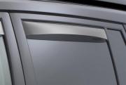 Land Rover Freelander 2013-2014 - Дефлекторы окон (ветровики), задние, светлые. (WeatherTech) фото, цена