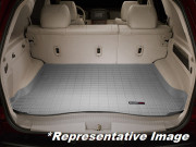 Land Rover Range Rover Sport 2014-2017 - Коврик резиновый с бортиком в багажник, серый. WeatherTech фото, цена