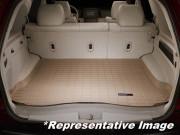 Land Rover Range Rover Sport 2014-2017 - Коврик резиновый с бортиком в багажник, бежевый. WeatherTech фото, цена