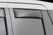 Land Rover Evoque 2012-2014 - Дефлекторы окон (ветровики), задние, темные. (WeatherTech) фото, цена