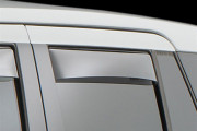 Land Rover Evoque 2012-2014 - Дефлекторы окон (ветровики), задние, светлые. (WeatherTech) фото, цена