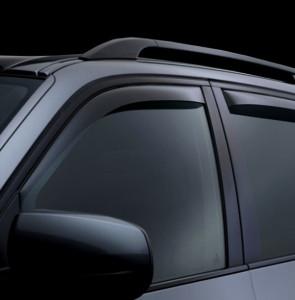 BMW X5 2007-2014 - Дефлекторы окон (ветровики), передние, темные.(WeatherTech) фото, цена