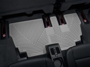 BMW X5 2007-2013 - Коврики резиновые, задние, 3 ряд, серые. (WeatherTech) фото, цена