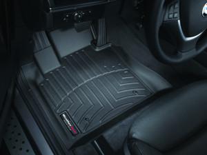BMW X5 2007-2013 - Коврики резиновые с бортиком, передние, черные. (WeatherTech) фото, цена