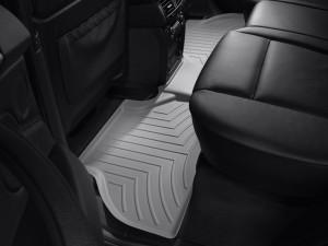 BMW X5 2007-2013 - Коврики резиновые с бортиком, задние, серые. (WeatherTech) фото, цена
