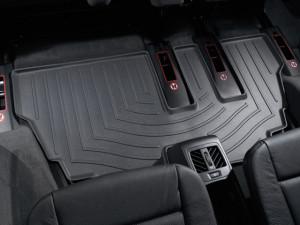 BMW X5 2007-2013 - Коврики резиновые с бортиком, задние, 3 ряд, черные. (WeatherTech) фото, цена