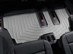 BMW X5 2007-2013 - Коврики резиновые с бортиком, задние, 3 ряд, серые. (WeatherTech) фото, цена