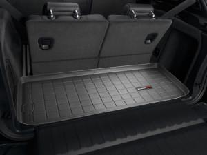 BMW X5 2007-2013 - (7 мест) Коврик резиновый в багажник, черный. (WeatherTech) фото, цена