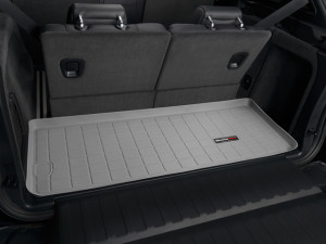 BMW X5 2007-2013 - (7 мест) Коврик резиновый в багажник, серый. (WeatherTech) фото, цена