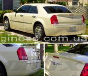 Chrysler 300C 2005-2011 - Лип спойлер на крышку багажника (под покраску) фото, цена
