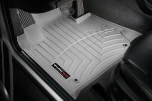 BMW X5 1999-2006 - Коврики резиновые с бортиком, передние, серые. (WeatherTech) фото, цена