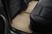 BMW X5 1999-2006 - Коврики резиновые с бортиком, задние, бежевые. (WeatherTech) фото, цена