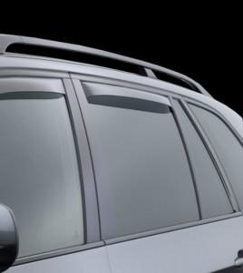 BMW X5 2000-2006 - Дефлекторы окон (ветровики), задние, светлые. (WeatherTech) фото, цена