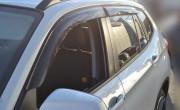 BMW X1 2009-2012 - (E84) - Дефлекторы окон (ветровики), комлект. (Cobra Tuning) фото, цена