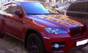 BMW X6 2008-2014 - Дефлекторы окон (ветровики), комлект. (Cobra Tuning) фото, цена