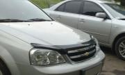 Chevrolet Lacetti 2003-2012 - Дефлектор капота (мухобойка), темный. (SIM) фото, цена