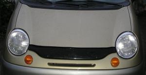Daewoo Matiz 1996-2004 - Дефлектор капота (мухобойка). (Voron) фото, цена