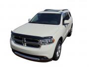 Dodge Durango 2011-2014 - Дефлектор капота (мухобойка), темный. (AVS). фото, цена