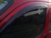 Peugeot Partner 1996-2008 - Дефлекторы окон (ветровики), темные. (Lavita) фото, цена