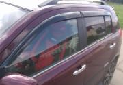 Geely MK 2010-2014 - (Cross) Дефлекторы окон (ветровики), комлект 4 шт. (Cobra Tuning) фото, цена