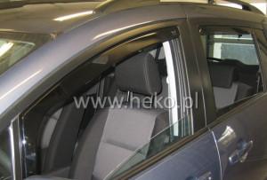 Mitsubishi Outlander 2002-2006 - Дефлекторы окон (ветровики), передние, вставные. HEKO-team фото, цена
