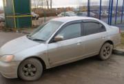 Honda Civic 1995-2001 - Дефлекторы окон (ветровики), комлект. (Cobra Tuning) фото, цена