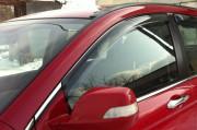 Honda CR-V 2007-2012 - Дефлекторы окон (ветровики), передние, светлые. (EGR) фото, цена