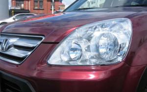 Honda CR-V 2005-2006 - Защита передних фар, прозрачная. (Airplex) фото, цена