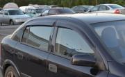 Opel Astra G 1998-2004 - Дефлекторы окон (ветровики), комлект. (Cobra Tuning) фото, цена
