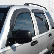 Jeep Liberty 2002-2007 - Дефлекторы окон (ветровики), комлект. (AVS) фото, цена